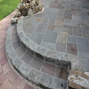 Brennholz Aufbewahrung Aussen : terrassen treppe aus granit grau und porphyr bahnware ~ Michelbontemps.com Haus und Dekorationen
