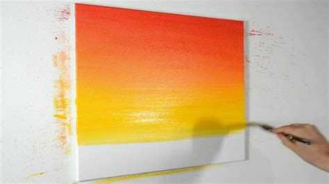 blend acrylic paints narrated demonstration youtube