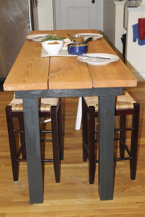 bar height kitchen table plans to build how to make a bar height kitchen table pdf