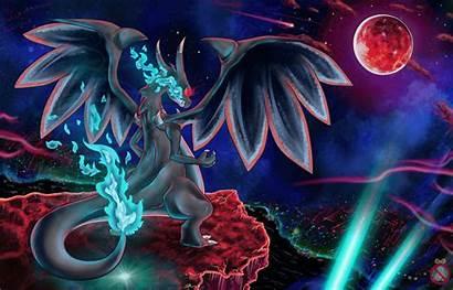 Pokemon Mega Charizard Wallpapers Evolution Evolutions Coloring
