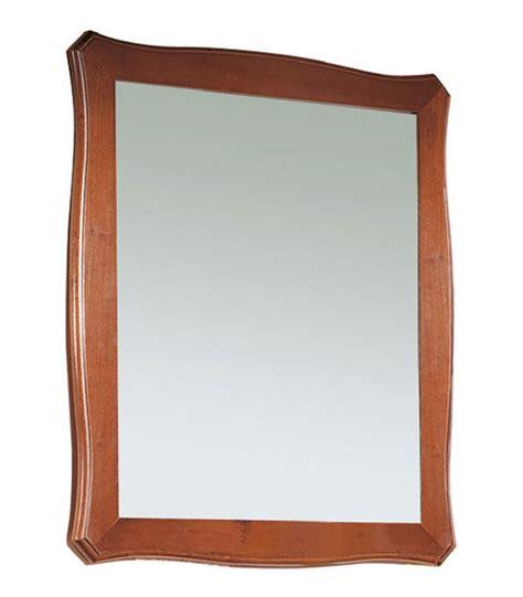 specchi con cornice in legno specchio con cornice in legno sagomata spazio casa