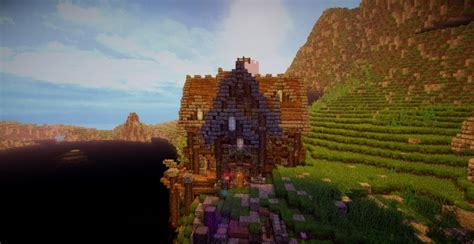 survival home   town minecraft house design