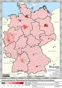 Stromverbrauch Geräte Berechnen : stromverbrauch hh geraete raumklima deutschland kreisebene ~ Themetempest.com Abrechnung