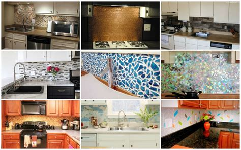 easy   diy kitchen backsplash ideas