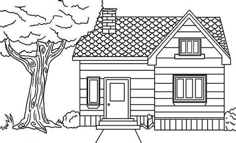 house coloring pages  coloring pages
