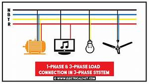 Three Phase Electrical Wiring System For Home  U0026 Multi