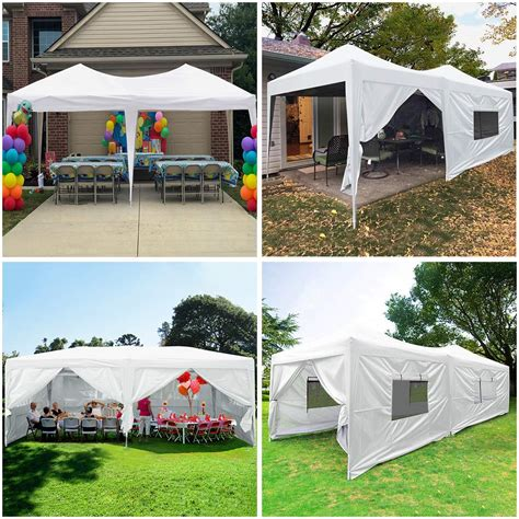 quictent easy pop  canopy tent instant canopy shelter  sides waterproof   pro