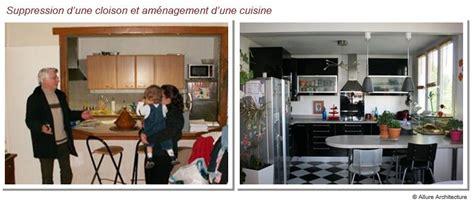 ouverture cuisine sur sejour architecture