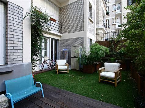 paris  appartement jardin dans immeuble art deco