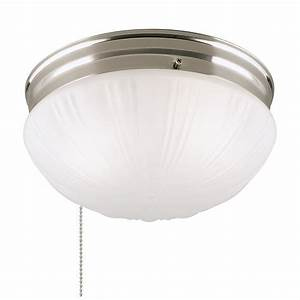 Westinghouse two light flush mount interior