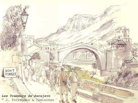 le si鑒e de sarajevo série meilleurs voeux de mostar 2 le pont de mostar dans la bd haut lieu médiatique ou centralité ordinaire sciencesdessinées