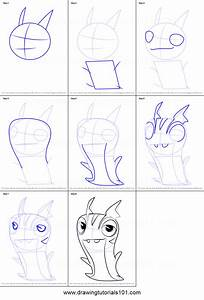 How to Draw Joules from Slugterra printable step by step ...