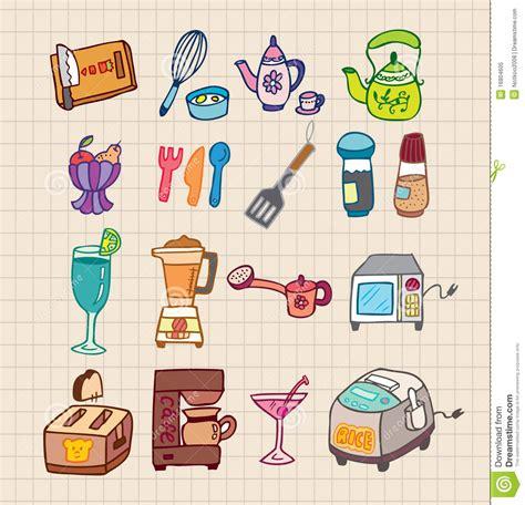 appareil de cuisine graphisme d 39 appareils de cuisine illustration de vecteur