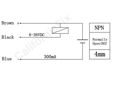 how to connect a inductive proximity sensor switch npn dc6 36v to pic18f4550 5v