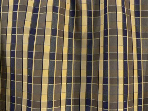 plaid drapery fabric drapery upholstery fabric reversible yarn dyed faux silk