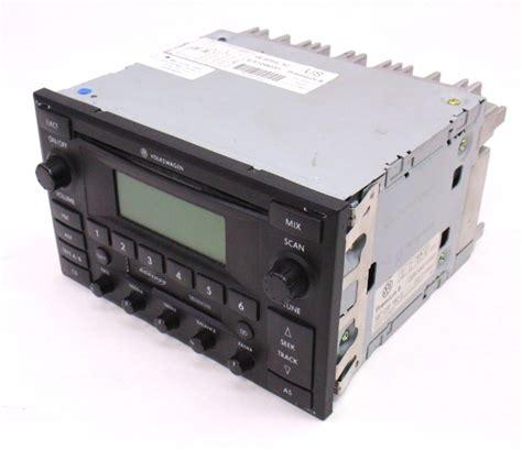 stock unit radio premium 6 vw jetta golf mk4 passat b5 5 1jm 035 157 g