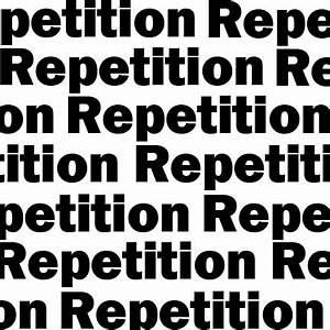 Repetition of Words | AcademicHelp.net