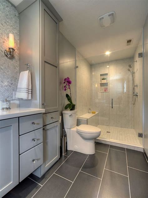 houzz transitional bathroom design ideas remodel