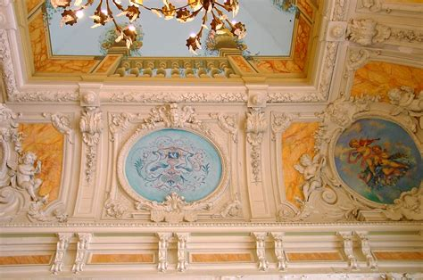 trompe l oeil plafond file plafond en trompe l œil du salon napol 233 on iii du palais des congr 232 s de vichy jpg