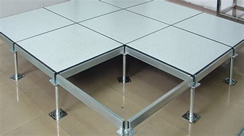 Steel Anti Static Perforated Access Floor Computer Room