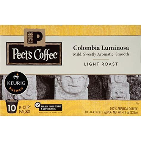 I got coffee at dark horse koloa. Peet's Coffee, Colombia Luminosa, Light Roast, K-Cup Pack ...