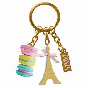 Paris Cle Nice : porte cl s breloques macarons de paris porte cl m tal ~ Premium-room.com Idées de Décoration