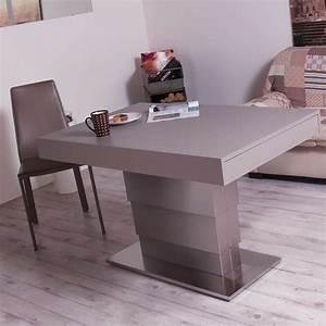 Table Bois Metal Extensible : table modulable extensible en bois et m tal ares motorius 4 pieds tables chaises et tabourets ~ Teatrodelosmanantiales.com Idées de Décoration