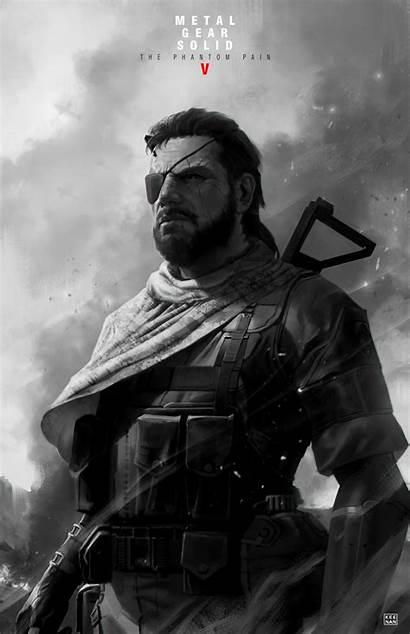 Boss Mgsv Gear Metal Solid Mgs Poster