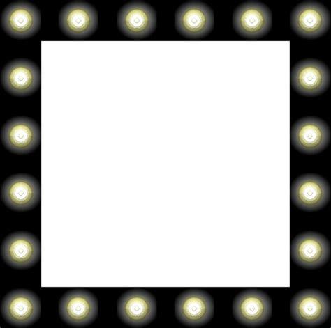 hollywood mirror with light bulbs clip art clipart