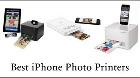 iphone printers best iphone 5 6 photo printers