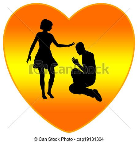 forgiveness fills hearts  love  religious concept
