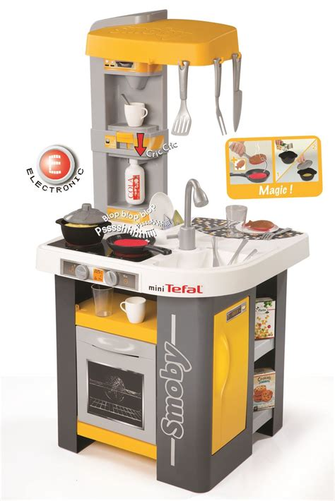 cuisine mini tefal smoby smoby tefal mini studio play kitchen childrens