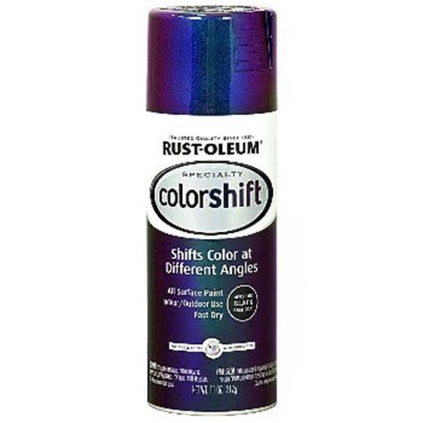 rustoleum color shift buy the rustoleum 254860 colorshift paint galaxy blue