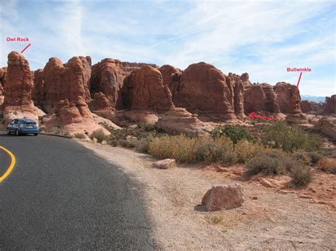 Canyoneering Elephant Butte Arches National Park Road