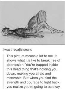 Drawings Depression Quotes