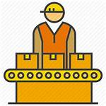 Operator Production Icon Line Factory Manufacturing Icons