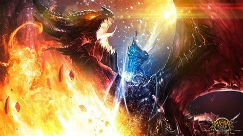 World Of Warcraft Night Elf Wallpaper World Of Warcraft Cataclysm Wrath The Lich King Deathwing Arthas Walldevil