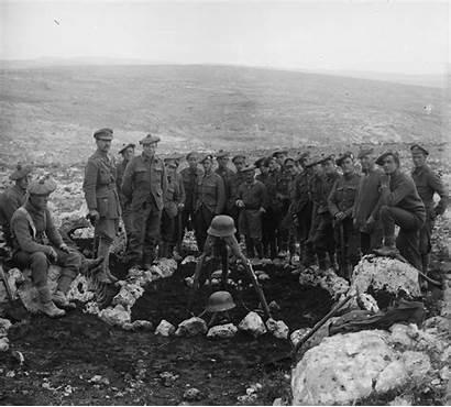 British Soldiers Mass Battle Grave 1917 Ottoman