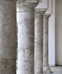 antique stone columns  ancient surfaces