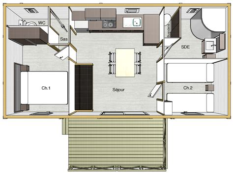 amenager chambre 10m2 plan amenagement cuisine 10m2 kirafes