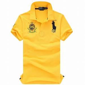 Tee Shirt Jaune Homme : 2014 ralph lauren t shirt polo ville logo homme populaire 311 jaune plpo 7797 ~ Melissatoandfro.com Idées de Décoration
