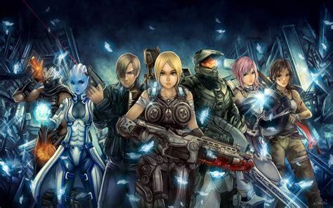 fondos de pantalla videojuegos efecto masivo anime