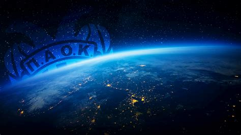 paok earth  space wallpaper pswallpaperscom