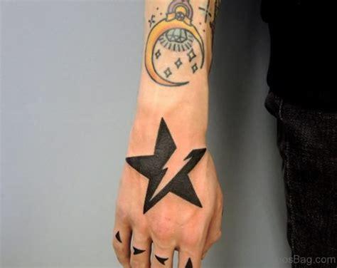 Star Tattoo Neck Boy