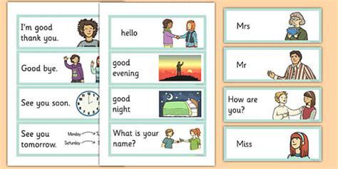 Greetings Flashcards English  English, Greetings Flashcards
