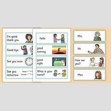 Greetings Flashcards English  English, Greetings Flashcards