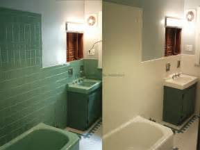 bathroom refinishing ideas before after bathtub refinishing tile reglazing sinks counter tops the painted otter