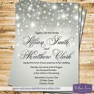silver winter wedding invitations wwwpixsharkcom With glitter snowflake wedding invitations
