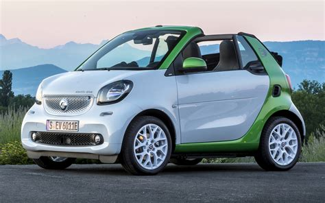 Smart Fortwo Cabrio Electric Drive (2017) Wallpapers And