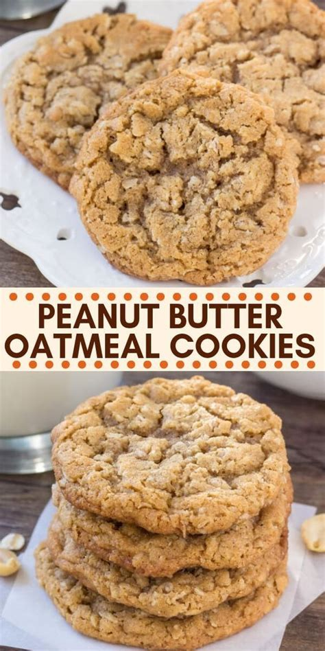 Bake at 350 degrees for 15 minutes. Peanut #Butter #Oatmeal #Cookies | Easy cookie recipes ...